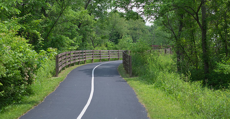 Hoover Scenic Trail Preservation Parks Of Delaware County